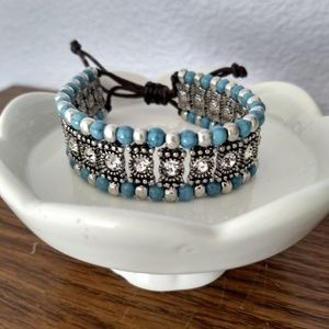 Park Lane Brooks Crystal & Bead Bracelet